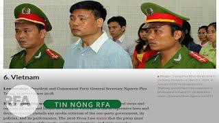 Tin nóng RFA | Việt Nam bắt 12 nhà báo trong năm 2019