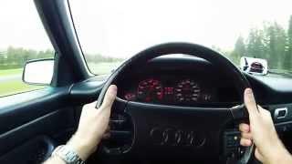 Audi 100 2.0E 40-120km/h acceleration
