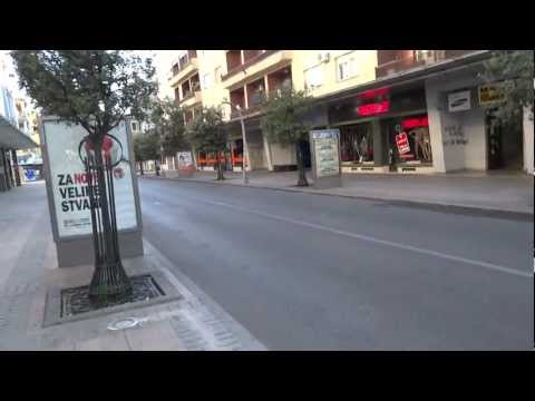 Another walk in Podgorica, Montenegro
