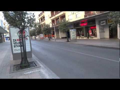 Another walk in Podgorica, Montenegro