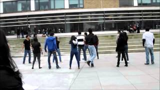 Desi Flash Mob Performed At Lancaster University