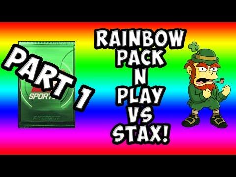 NBA 2K15 MyTeam - Rainbow Pack N' Play Versus StaxMontana - Part 1 - Clutch Pulls
