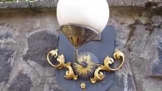 самодельные светильники & калитка