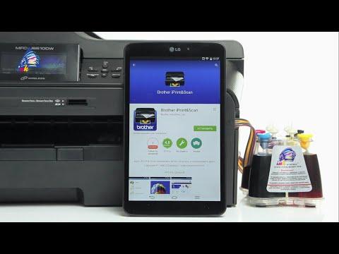 Мобильная печать через Brother IPrint&Scan