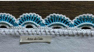 Aprenda a fazer Bico Russo em Crochê