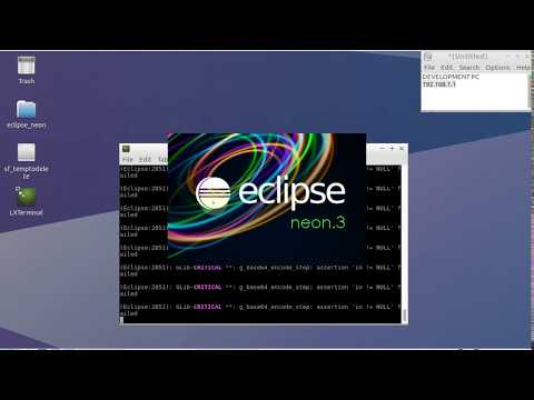GDB Remote Debugging using LUbuntu Linux and Eclipse CDT Neon 3