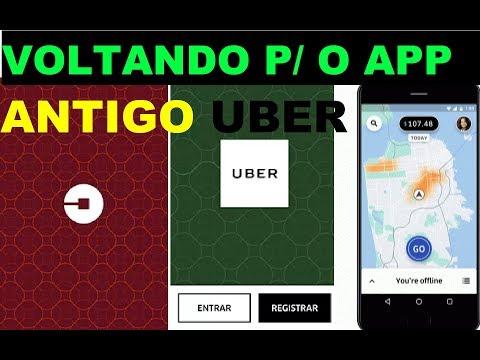APRENDA A VOLTAR P/ O APP ANTIGO DA UBER (passo a passo)
