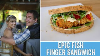 The Wedding Day Food we never tried - Epic Fish Finger Sandwich!