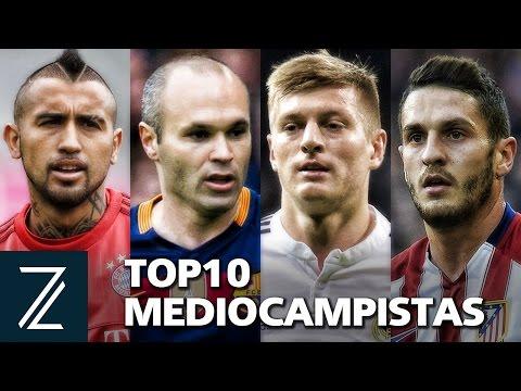 2016 | Los 10 Mejores MedioCampistas del Mundo | Skills/Passes | HD