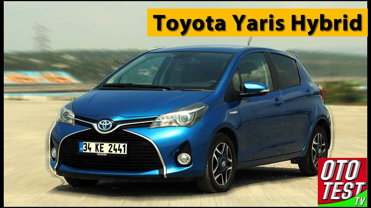 toyota yaris hybrid test drive and review video youtube. Black Bedroom Furniture Sets. Home Design Ideas