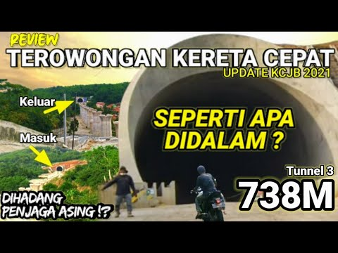 Update Terbaru Proyek Kereta Cepat Jakarta Bandung Terowongan KCJB KCIC 2021