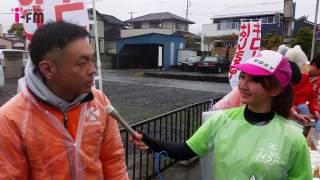 茨城放送ランニング部・佐藤彩希が2017年4月9日に行われた 「日立さくら...