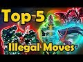 Top 5 Cards Which Cause Illegal Moves in YuGiOh