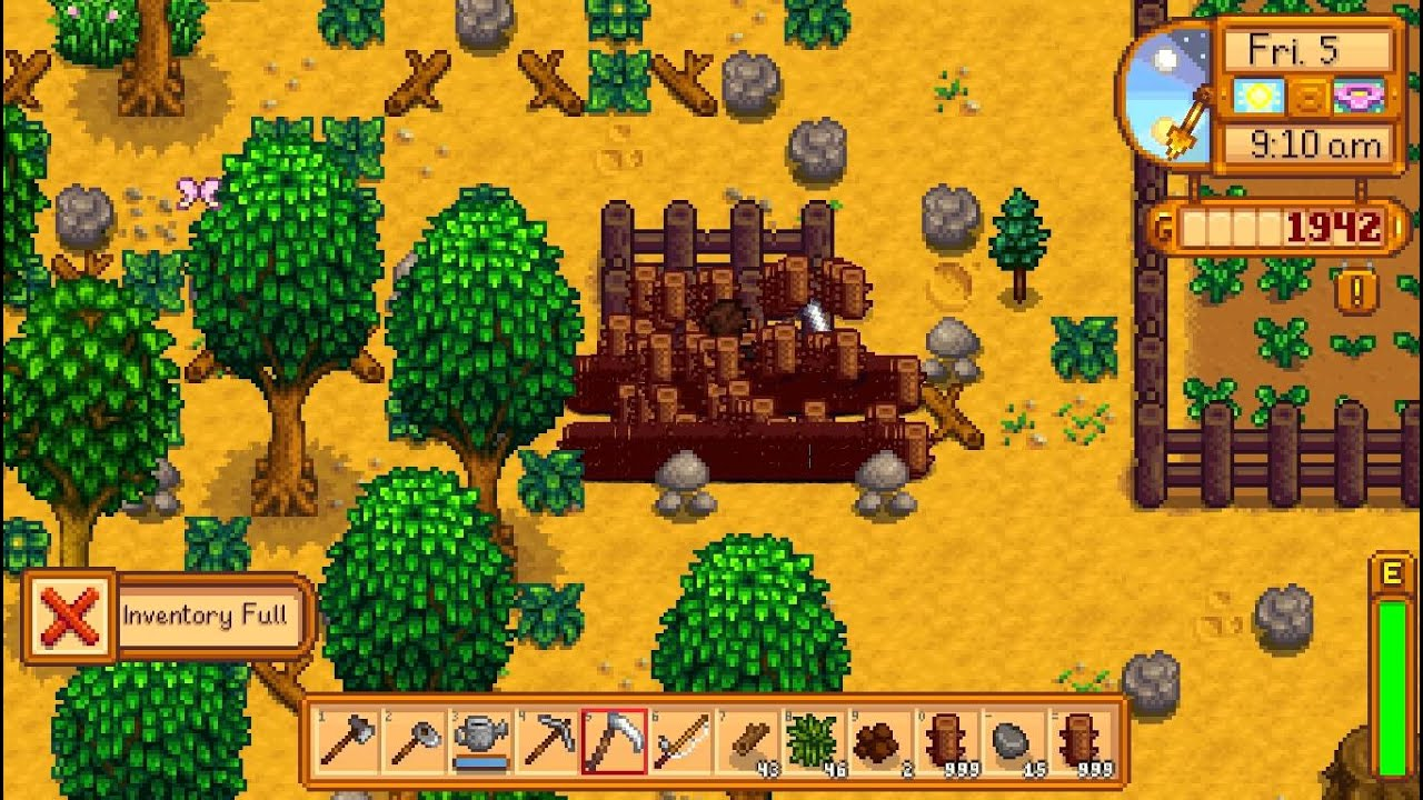 Stardew Valley Fences Bug Patched Feb 29th 2016 Youtube