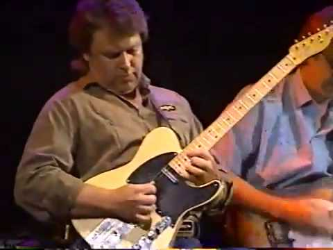 Telecaster guitar virtuoso Danny Gatton WUSA-TV 1990