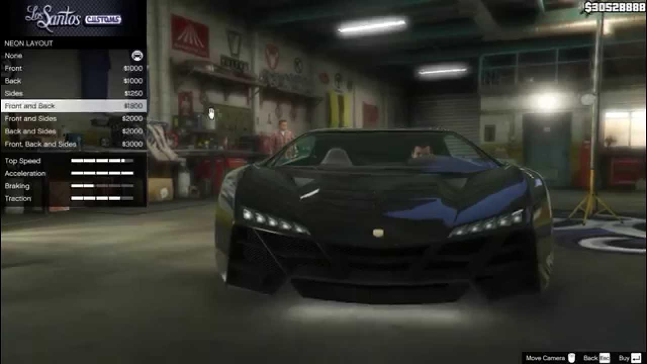 Gta 5 Lamborghini Sesto Elemento Full Tuning Pegassi Zentorno