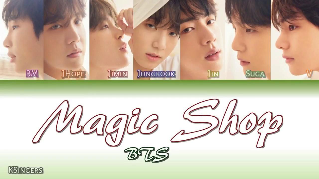 Download BTS - Magic Shop | Sub (Han - Rom - English) Color Coded Lyrics