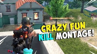 Nasty! ROS Fun & Explosive Kill Montage! (Rules of Survival)