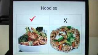 Healthy  dining out and take out with Chinese food with San Tran