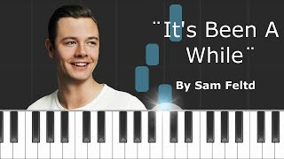 "Sam Feldt - ""Been A While"" Piano Tutorial - Chords - How To Play - Cover"