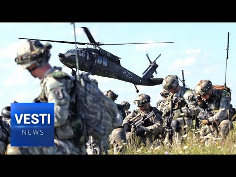 NATO On The Border! 9000 Soldiers In Estonia Only 2 Hours Away From St. Petersburg!
