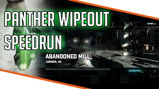 SC: Blacklist - Abandoned Mill - Panther Wipeout Speedrun [08:00.79]
