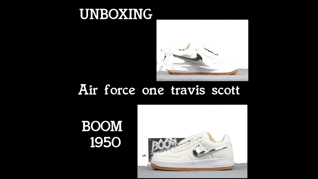 UNBOXING NIKE AIR FORCE ONE TRAVIS SOTT (Vova, Dhgate, Boom1950)