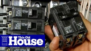 How to Upgrade an Electrical Panel to 200-Amp Service - This Old House thumbnail