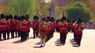 Band of the Irish Guards - Buckingham Palace - 21 April 2015