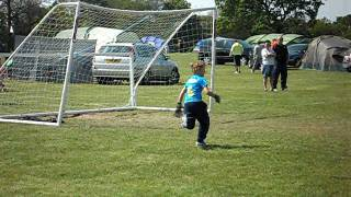joshua in goal at royal umpire