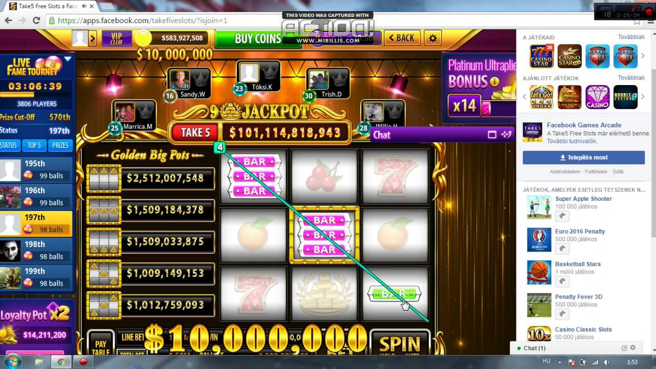 5 free slots