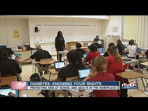 Diabetes: Know your rights at school, work