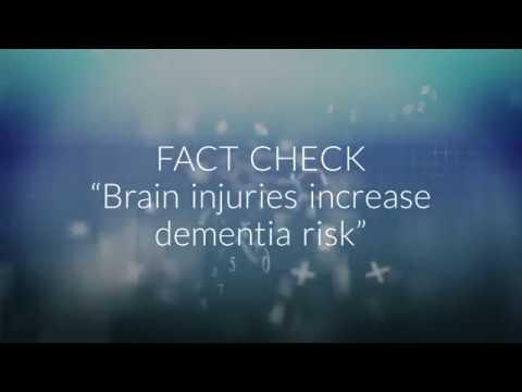 Brain injuries increase dementia risk: FACT CHECK