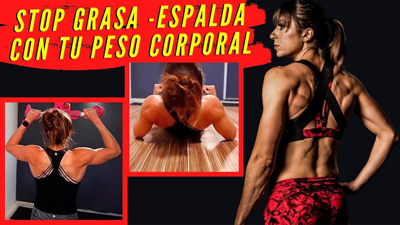 5 MEJORES EJERCICIOS de ESPALDA con PESO CORPORAL – Rutina con Peso Corporal en Casa