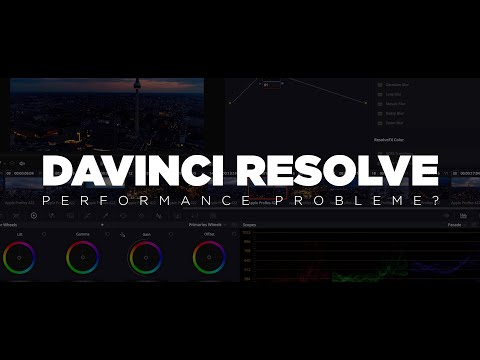 Performance Probleme in Davinci Resolve? - Ursachen & Lösungen thumbnail