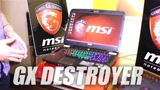 MSI CES 2014 - AMD Gaming machine GX Destroyer APU R29 290Xm