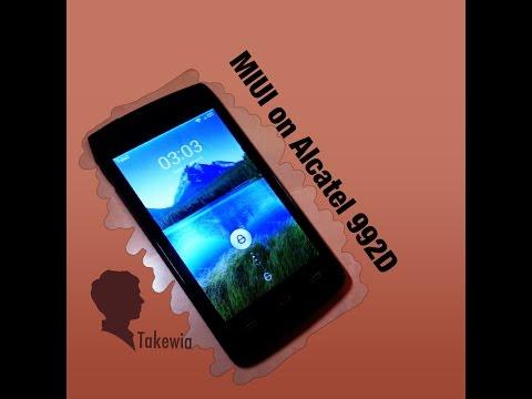 Обзор прошивки MIUI на Alcatel One Touch 992D.