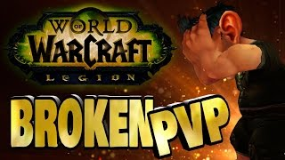 World of Warcraft Legion Pvp - Summed Up in Less Than 1 Minute