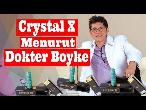 BAHAYA...!!! Crystal X Menurut Dokter Boyke Crystal X Nasa Testimoni
