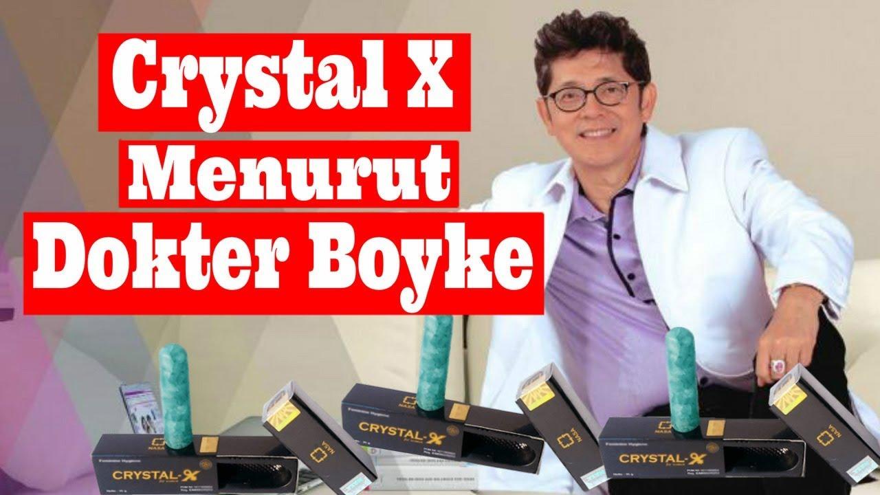 Bahaya Crystal X Menurut Dokter Boyke Nasa Testimoni Cristal Kristal Original Obat Herbal Keputihan