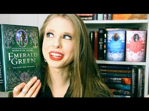 EMERALD GREEN BY KERSTIN GIER | Booktalk With XTINEMAY