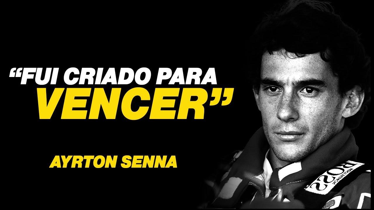 Ayrton Senna - COMO TER SUCESSO NA VIDA / Motivação