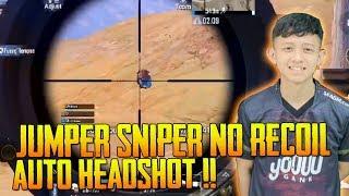 Jumper Best Sniper No Recoil Auto Headshot | Jumper Gameplay | PUBG Mobile