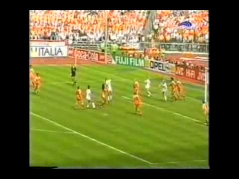 Ruud Gullit VS USSR In EURO 1988 Final 2/2.