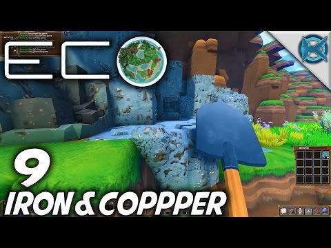 Eco | EP 9 | Iron & Copper | Let's Play Eco Gameplay (S-1)