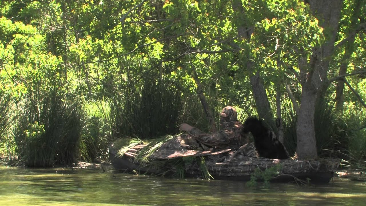blind spotlight youtube diablo paddlesports watch duck product canoe blinds