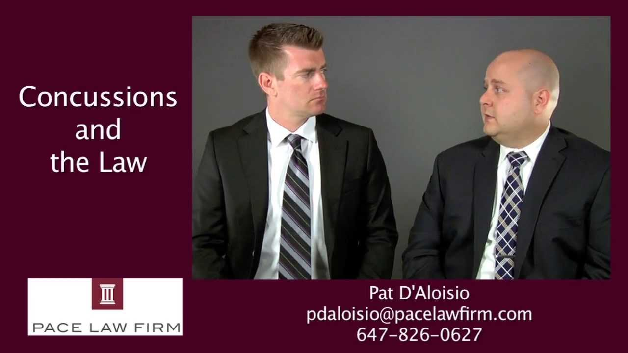 Toronto Personal Injury   Concussions and the Law - YouTube
