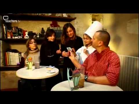 Teachers TV: Healthy Eating, Let's Start a Café, Portraits