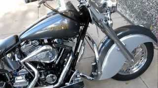 2000 Indian Chief Millenium edition, two into one Indian Super trapp exhaust, for sale