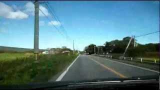 【車載動画】北海道道43号大沼公園鹿部線(一部区間)【4倍速】